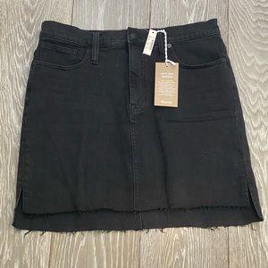 NWT Madewell Step-Hem Denim Skirt